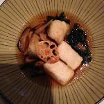 Argentian Toothfish broth with tofu