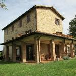 Restored farmhouse in wonderful setting