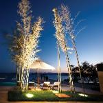 Outdoor Pool - Night View