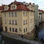 un angolo di quiete in centro a Praga