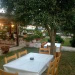 A glance at Akis Tavern garden! Isn't it beautiful?