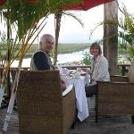 breakfast on terras