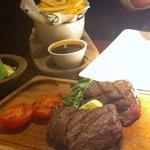 Fillet Steak, chips & an iceberg wedge!