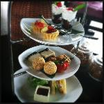 complimentary daily high tea