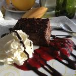 chocolate brownie - yum!!!