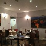 The dining area - small but adequate