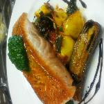 Seared Salmon Special