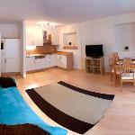 Apartment Mayrhofen - Wohnküche