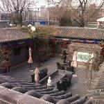 Terrace with great view on hutong