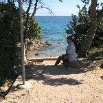 sentier pour la plage