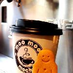 Coffee and a Smiley Gingerman!