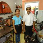 chef Thien and assistant A Kan
