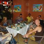 expats from the local community