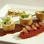 Ballottine de poularde au foie gras