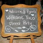 Welcome/Rehearsal Dinner