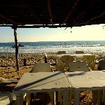 Vista del Playa Zipolite