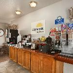 Continental Breakfast Bar.