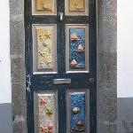 The street of painted doors, Funchal Old Town.