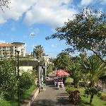 The Promenade in front of the Porto Mare, Lido, Funchal