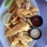 Medium Fried Shrimp and Fish