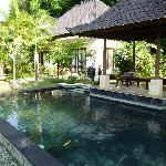 Small pool near our room - larger pools available