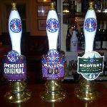 Selection of cask ales