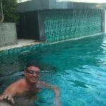 morning swim, magic feeling