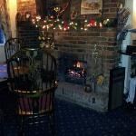 coal fire in the pub is great