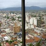Vista de la ciudad desde los ascensores