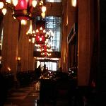 Lobby Bar and exit to 57th Street