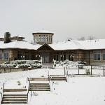 The winery in snow!