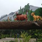 The Lion King exterior/grounds