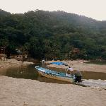 Last water taxi from Yelapa... 5:45 pm departure