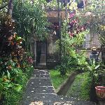 Front door to Cendrawasih Room