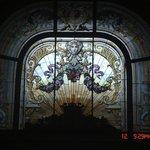 Vitral do hall de entrada