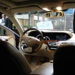 The cab that the hotel provides upon your request, very nice cab driver