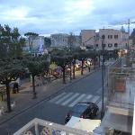 View from tiny balcony