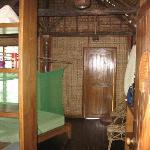 Interior - Hut #5