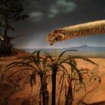 恐竜の世界の再現