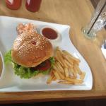 beef burger. very good quality