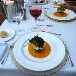 Example of food at Son Palou