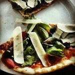 Bresaola pizza at Neo