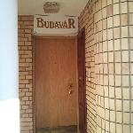 L'entré de Budavar pension.