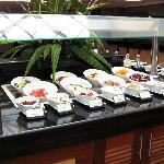 Johari salad bar