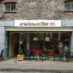 Outside Arabica Coffee Shop Shannon Street, Limerick