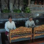 Bali music in lobby