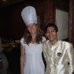 My wife who is a food lover with Rejan