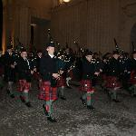 Bagpipes preceding Last Post Ceremony in the lead up to Remembrance Day