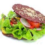 Raw veggie burger