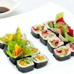 Raw sushi, no rice!